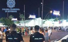 La Policía Nacional detiene a 35 personas y sanciona a otras 145 durante la Feria de Almería