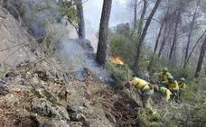 140 hectáreas quemadas en un verano tranquilo en el monte