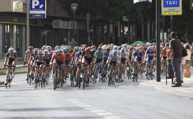 La Vuelta a España en la provincia de Granada
