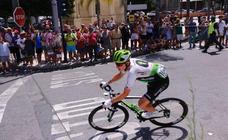 Gran recibimiento de Granada a la Vuelta Ciclista a España