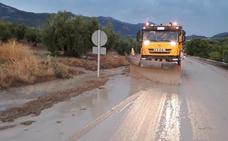 Jaén, de nuevo en alerta por tormentas