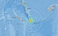Alerta por tsunami tras un terremoto de 7,1 en el Pacífico Sur