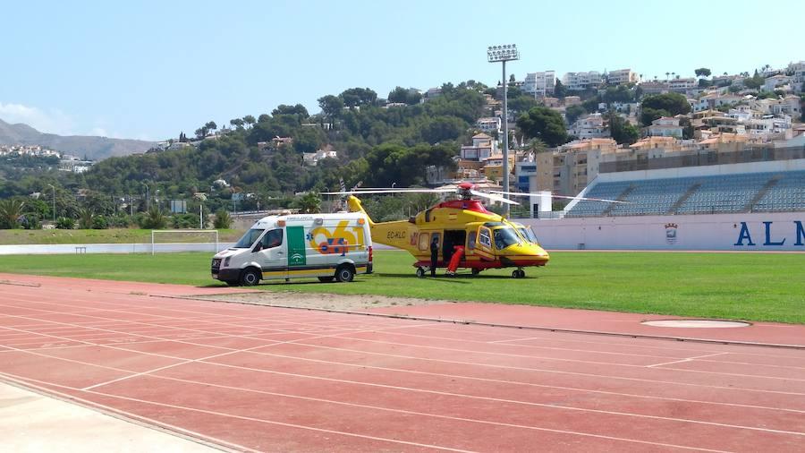 Sale del hospital el niño de 3 años que se cayó en una piscina en Almuñécar