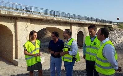 En servicio el puente sobre el arroyo Salado en la A-305, en Porcuna, tras las obras de emergencia