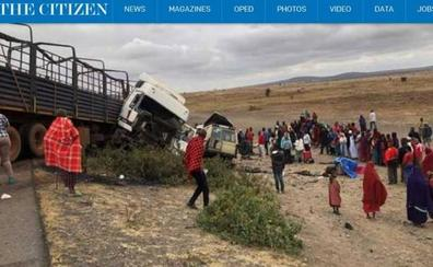 Tres turistas malagueñas mueren en un accidente de tráfico en Tanzania