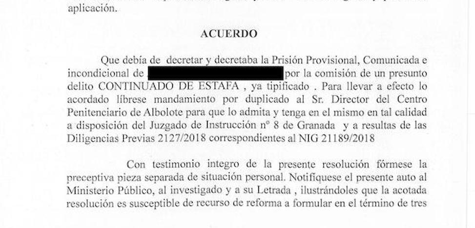 A prisión el denunciado por alquilar el mismo piso a numerosas personas en Granada