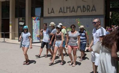 La Alhambra alcanza un aforo de «casi el 100%» durante el verano