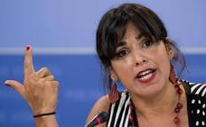 Teresa Rodríguez: «PSOE y Cs no han roto. Ahora el pacto es adelantar las elecciones»