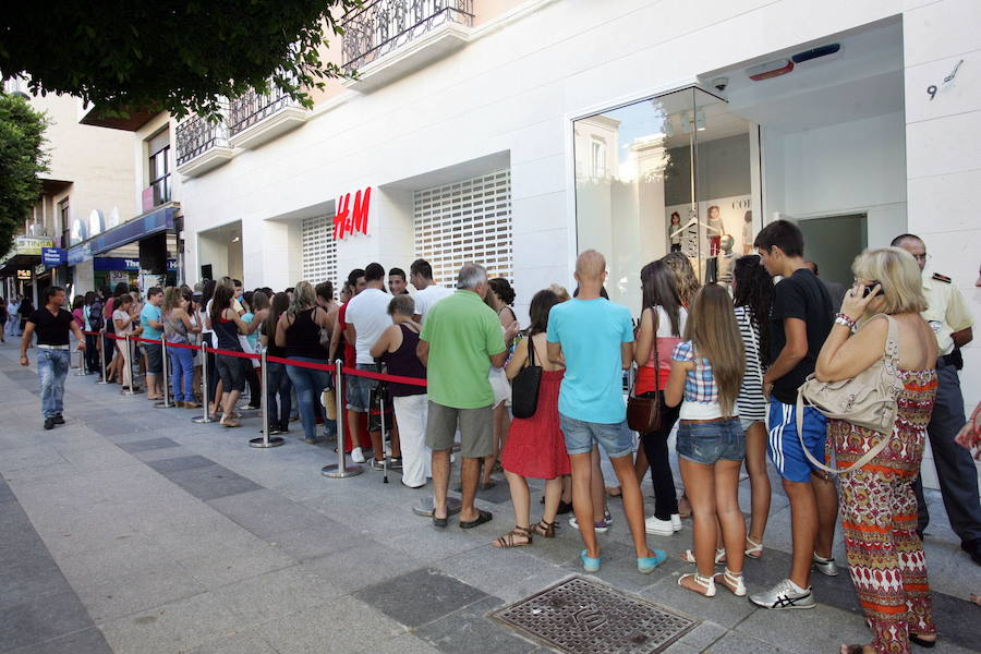 H&M cerrará su tienda en el Paseo para trasladarse a Torrecárdenas
