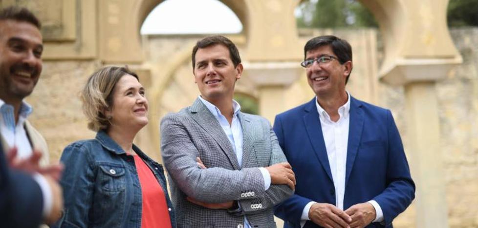 Marín propondrá esta tarde a la ejecutiva de Ciudadanos romper el pacto con el PSOE en Andalucía