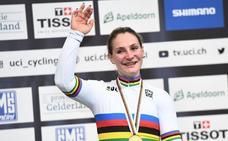 La campeona mundial y olímpica Kristina Vogel queda parapléjica