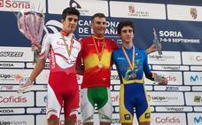 Carlos Rodríguez queda campeón de España júnior en contrarreloj