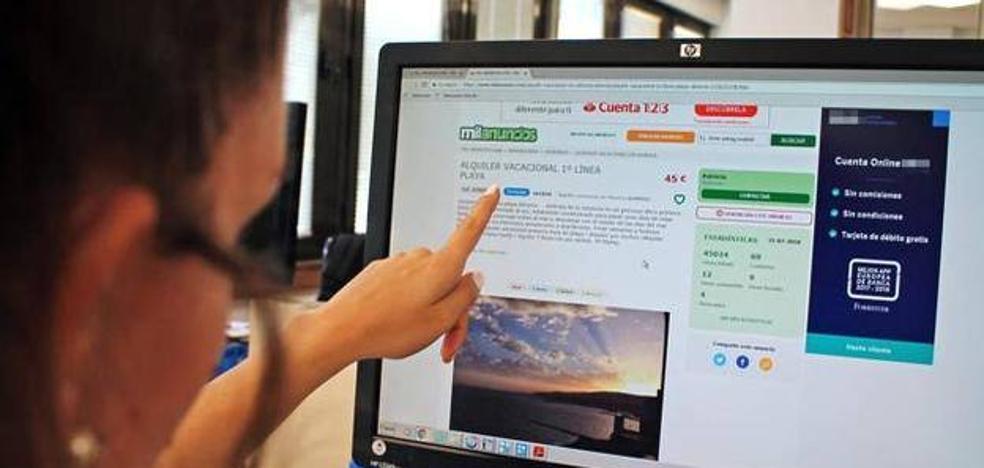 Los engaños a la hora de buscar piso de alquiler en Internet proliferan con ofertas llamativas