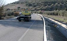 El TSJA condena a la Junta a pagar 48.531 euros a la familia de un fallecido en un accidente en la A-308