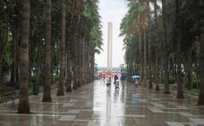 Las lluvias siguen este domingo en la provincia de Almería, que está en riesgo amarillo