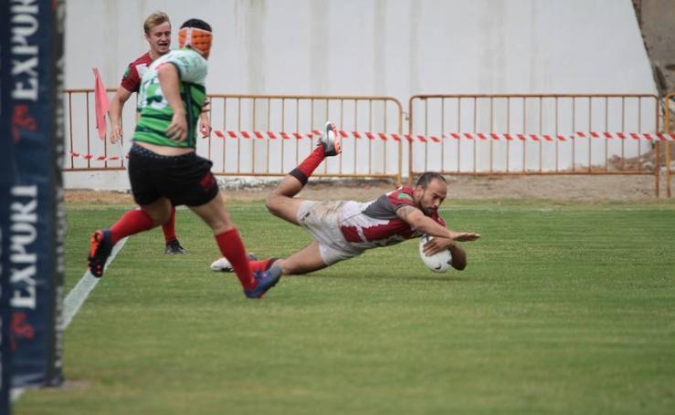 Inauguración del campo de rugby de Almería