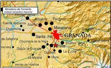 Un terremoto superficial de 2,2 grados se deja sentir en Armilla