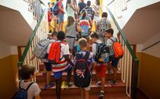 Más de 84.000 niños granadinos comienzan hoy el curso escolar