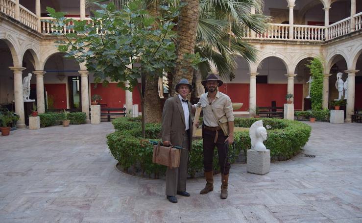 Indiana Jones se hace de Unicaja Almería e irá al Moisés Ruiz