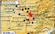 Granada 'tiembla' con el tercer terremoto en las últimas 24 horas