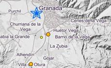 Cinco terremotos sacuden Granada en cuatro horas