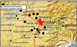 Seis terremotos en una tarde agitan Granada