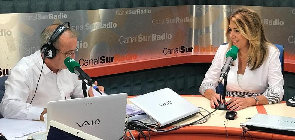Susana Díaz: «Tendré que convocar elecciones cuando no pueda hacer lo que tenga que hacer»