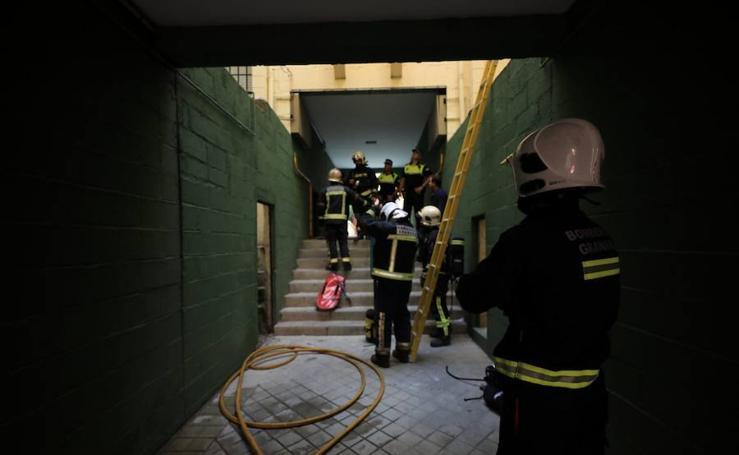 Susto por un escape de gas en Casería de Montijo