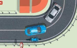 Así debes efectuar el adelantamiento a un ciclista en condiciones de nula visibilidad
