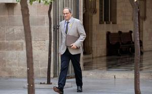 Torra insiste en tender la mano a Sánchez tras la Diada: «No ponemos fecha límite al diálogo»