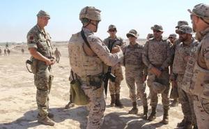 El personal clave del próximo contingente en Irak visita la zona de operaciones