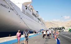 Tercera escala del crucero Marella Spirit este verano en Almería