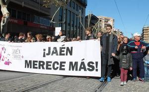 'Jaén merece más' amenaza con «cortar las vías» del tren si no hay «un plan inmediato» del Gobierno para recuperar el ferrocarril