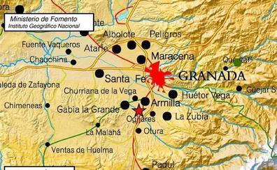 Un terremoto hace temblar Granada capital y el área metropolitana