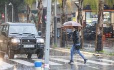 Aviso naranja este sábado por lluvias y tormentas en la costa de Granada