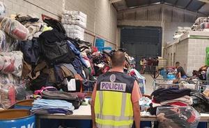 Un detenido en una operación contra el empleo irregular en una nave de Granada