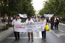 Nueva protesta de los trabajadores de la línea 33