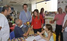 Casi 800 alumnos comienzan el curso en las Aulas Hospitalarias de Almería