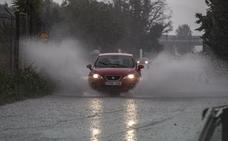 Toda la provincia de Granada, en alerta amarilla por fuertes lluvias