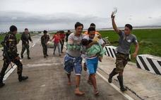 El supertifón Mangkhut causa al menos ocho muertos en Filipinas y uno en Taiwán