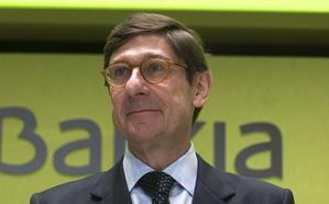 El presidente de Bankia, José Ignacio Goirigolzarri, en un desayuno de IDEAL