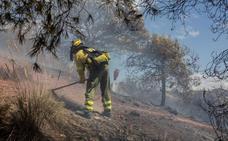 Marmolejo, con 10 fuegos, es el tercer municipio con más siniestros de Andalucía