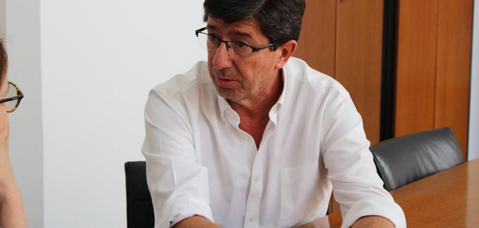 «El PSOE dice que cada vez que Rivera viene a Andalucía me está insultando. Para mí es un orgullo»