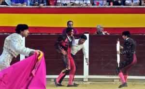 Buena evolución del banderillero Vicente Varela, herido en Villacarrillo