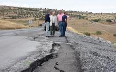 Diputación invierte 800.000 euros en la mejora de la carretera de acceso a Gor
