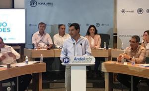 Moreno acusa a la Junta de «tangar» más de 2.000 millones a los ayuntamientos