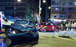 Un hombre de 45 años, herido tras un aparatoso accidente en Plaza Einstein
