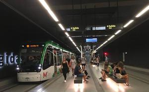 La huelga del metro de Granada, protagonista en la vuelta a los institutos
