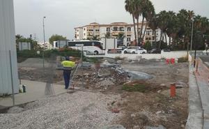 Almuñécar prepara una parcela para depositar los vehículos que retire la Policía
