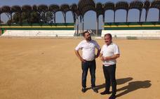 Inversión de 245.000 euros para instalar césped artificial en el campo de Baños de la Encina